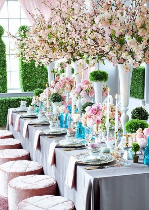 07aca9d8cf03 43 Cool Spring Bridal Shower Ideas