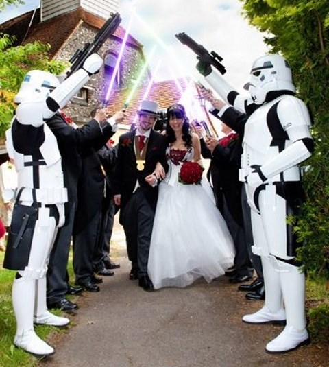 83 Exciting Star Wars Wedding Ideas Happywedd