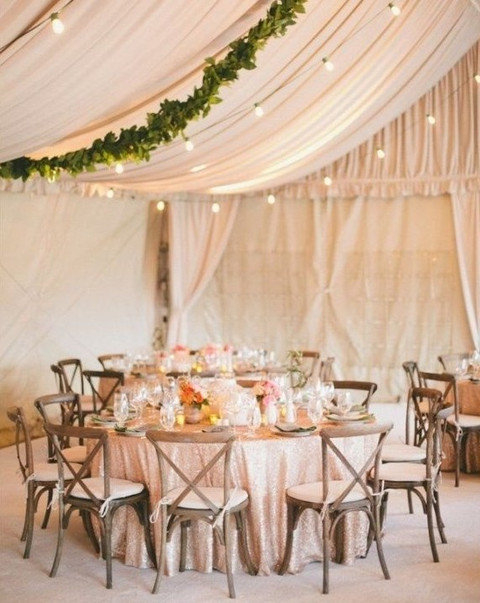 5 ways and 125 examples to decorate your wedding tent happywedd by mia junglespirit Choice Image