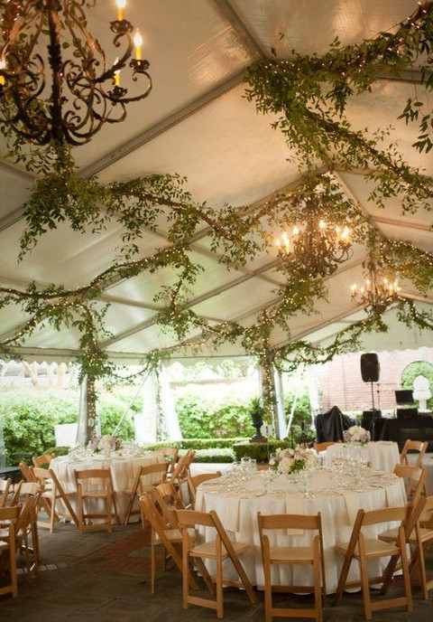 by Mia & 5 Ways And 125 Examples To Decorate Your Wedding Tent | HappyWedd.com