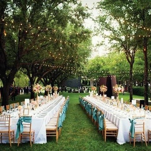 Backyard Wedding Receptions 55 backyard wedding reception ideas you'll love | happywedd