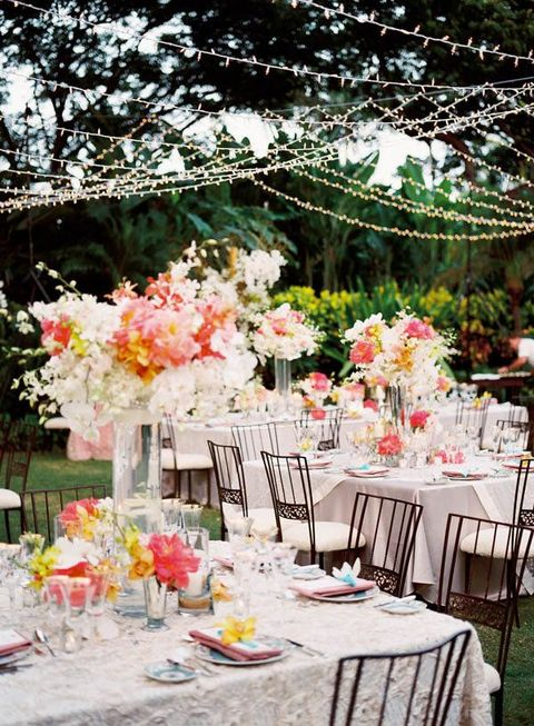 by Chloe & 55 Backyard Wedding Reception Ideas Youu0027ll Love | HappyWedd.com