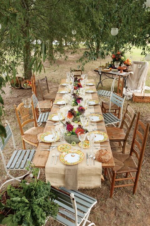 by Chloe - 55 Backyard Wedding Reception Ideas You'll Love HappyWedd.com