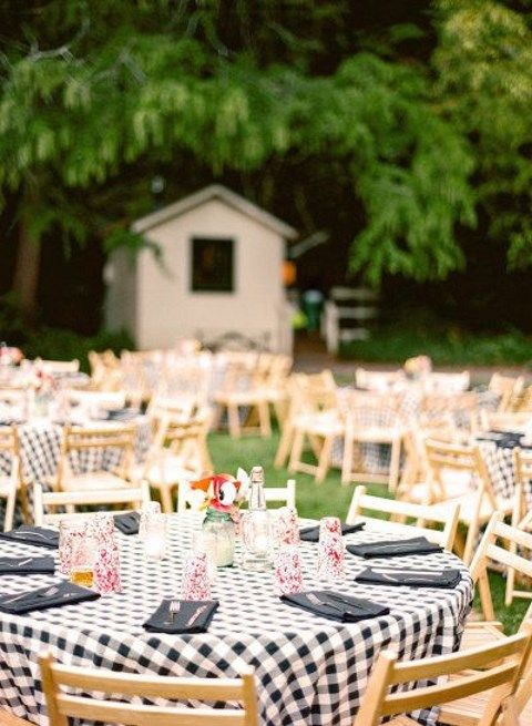 55 Backyard Wedding Reception Ideas You\'ll Love | HappyWedd.com