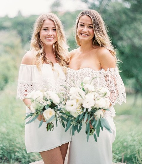 45 Boho Chic Bridesmaids' Gowns That Inspire