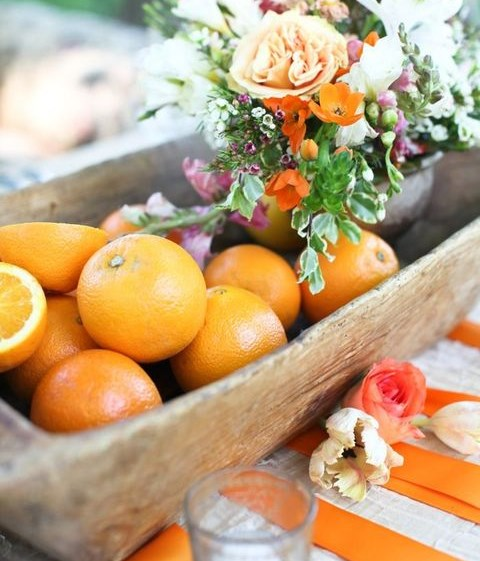 85 Cheerful Citrus Wedding Decor Ideas