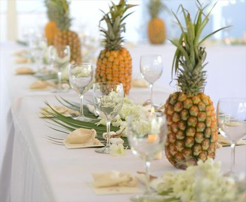 85 very fun pineapple wedding ideas for Cheap wedding decoration packages