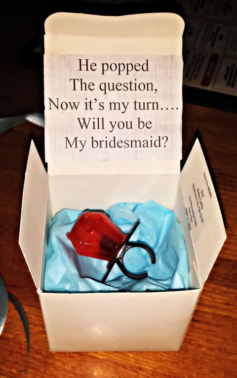 42 Creative 'Will You Be My Bridesmaid' Ideas