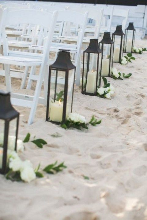 45 beach wedding aisle decor ideas for Www wedding decorations ideas