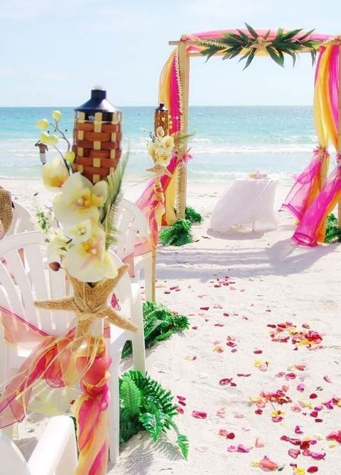45 Beach Wedding Aisle Decor Ideas