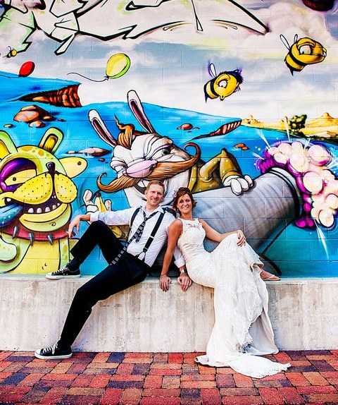 60 Inspiring And Cheerful Graffiti Wedding Ideas
