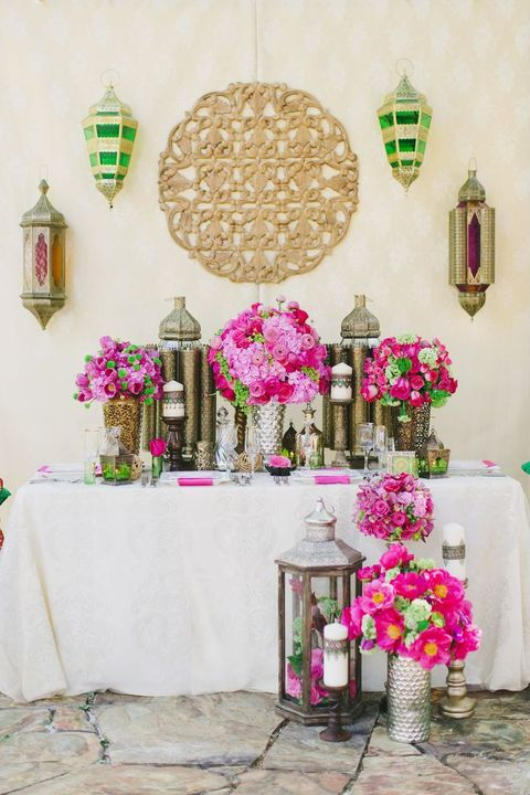 86 Bold And Vivacious Moroccan Wedding Ideas