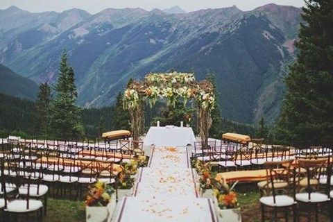 67 adventurous mountain wedding ideas Places to have a fall wedding