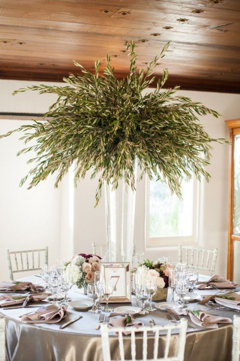 Natural olive branch wedding ideas happywedd