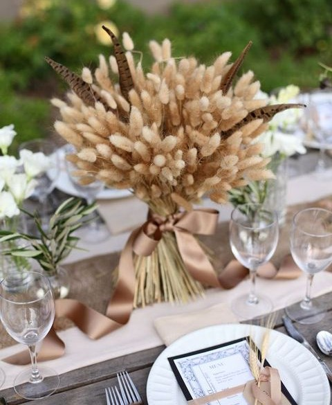 60 Rustic Wheat Wedding Ideas