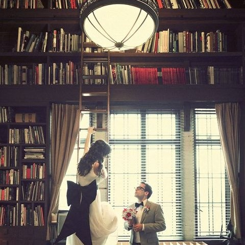 70 Library And Book-Inspired Wedding Ideas