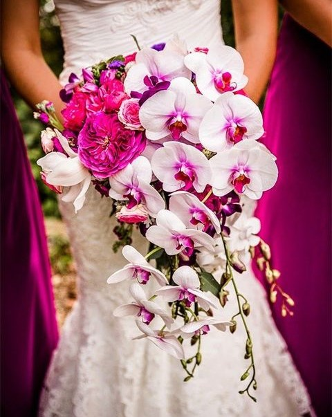60 Bright Tropical Wedding Bouquets