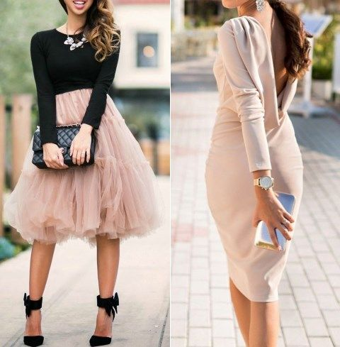 24 chic fall wedding guest outfits for ladies for Wedding dresses for invited guests