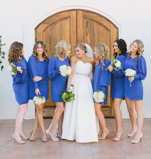 25 Long-Sleeved Bridesmaids' Dresses