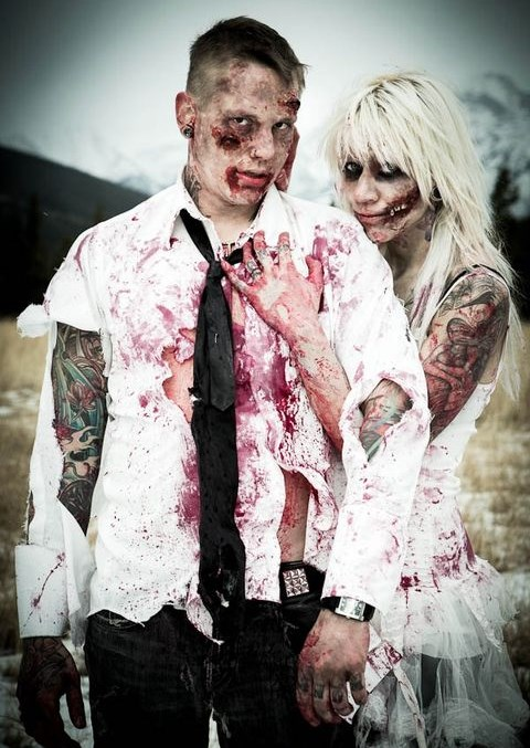 46 Crazy And Fun Zombie Wedding Ideas Happywedd Com