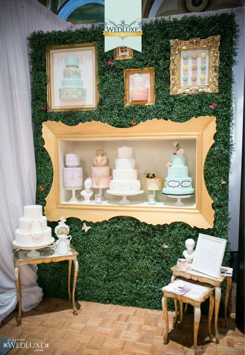 Bridal Expo Stands : Amazing cake displays to accentuate your sweets