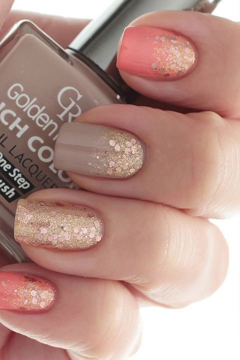 30 Cool Fall Wedding Nails Ideas