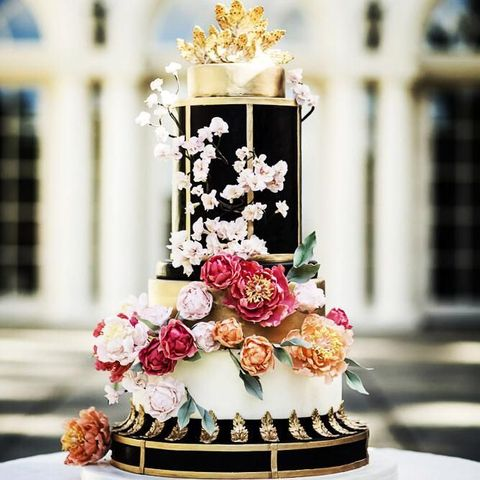 60 Whimsical Wedding Cakes To Get Inspired