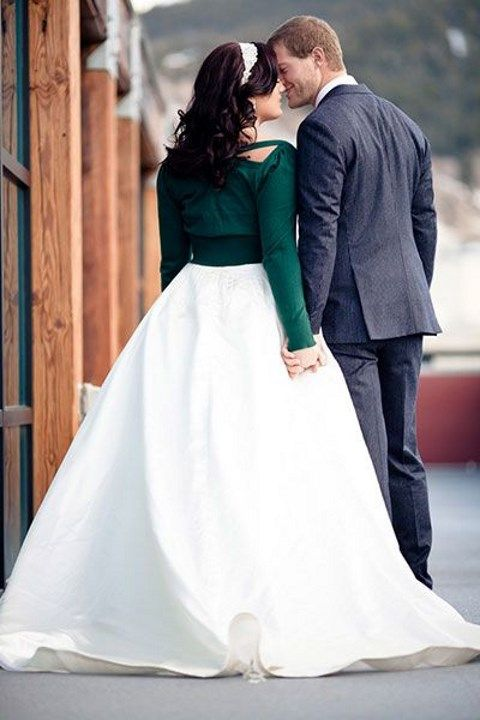 Wedding Dress Paired With A Cardigan 43 Ideas