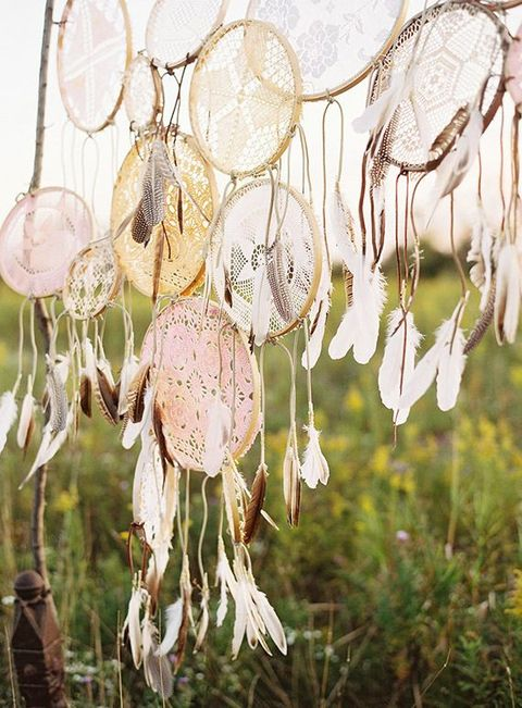64 Ways To Incorporate Dreamcatchers Into Your Wedding Decor