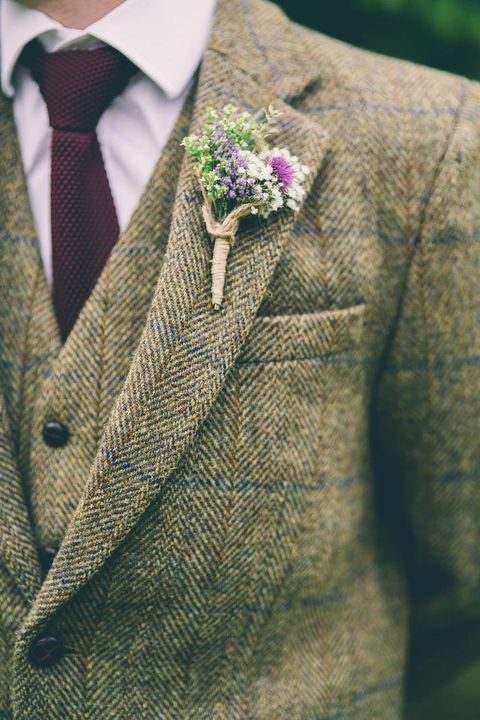 40 Stylish Tweed Suits For Grooms Happywedd Com