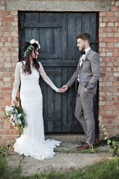 40 Stylish Tweed Suits For Grooms | HappyWedd.com