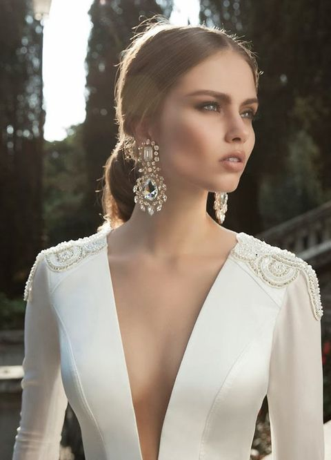 50 Chic Statement Bridal Earrings Ideas To Rock