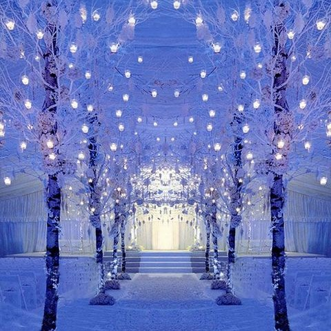 60 Adorable Winter Wonderland Wedding Ideas Happywedd