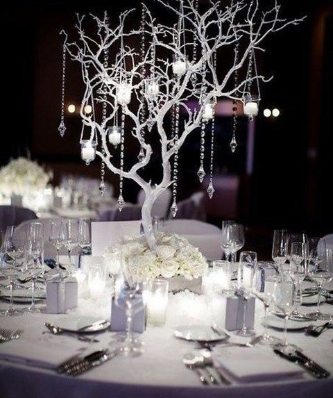 63 Exquisite White Winter Wedding Ideas HappyWeddcom