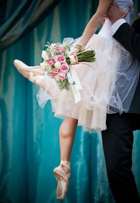 75 Refined And Charming Ballet-Inspired Wedding Ideas