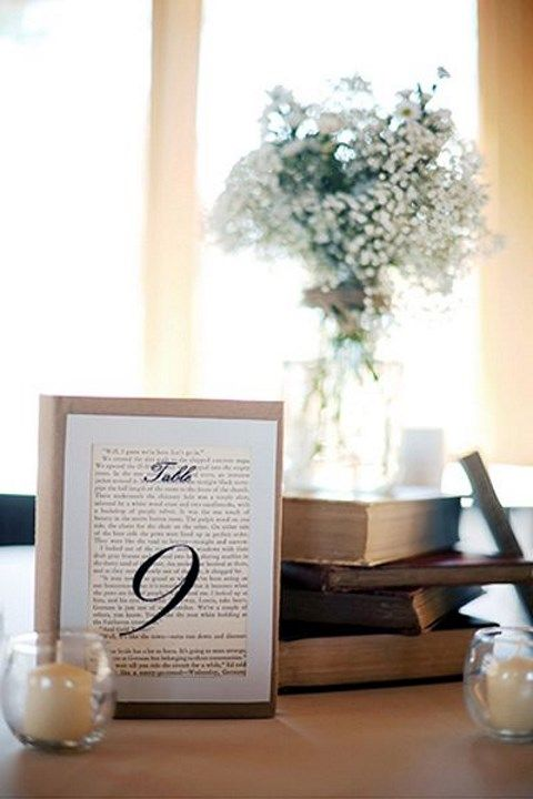 Book page and newspaper ideas for your wedding