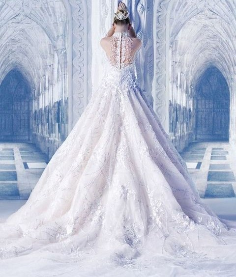 40 Gorgeous Ice Queen Wedding Dresses That Wow