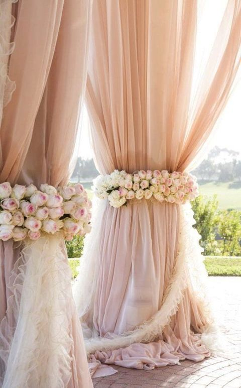 Pantone Color 2016 48 Rose Quartz Wedding Ideas