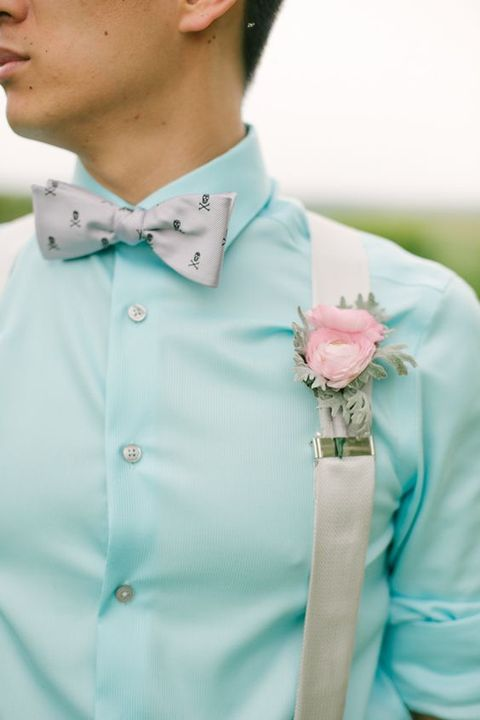 80 Awesome Groom Looks With Suspenders