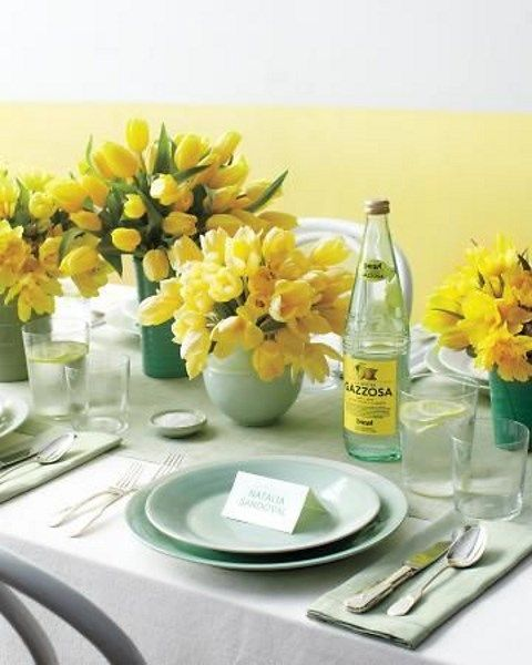 47 refreshing mint and yellow wedding ideas to try happywedd com