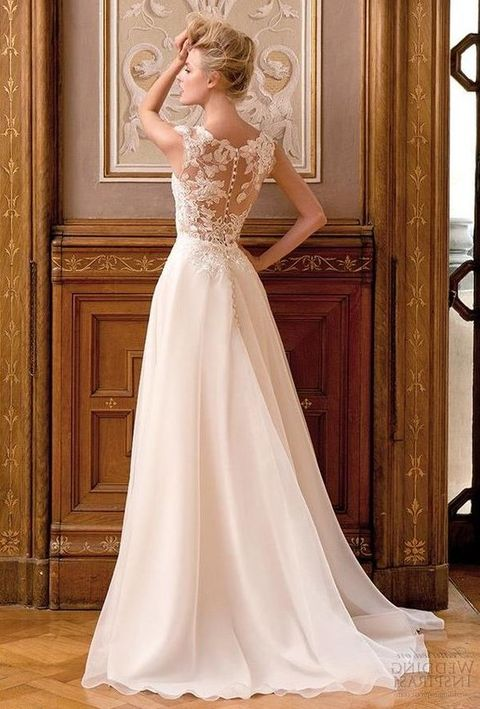 70 stunning and timeless a line wedding gowns for Image of wedding dresses