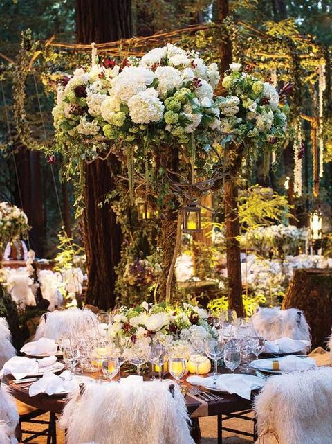 65 Romantic Enchanted Forest Wedding Ideas Happywedd Com