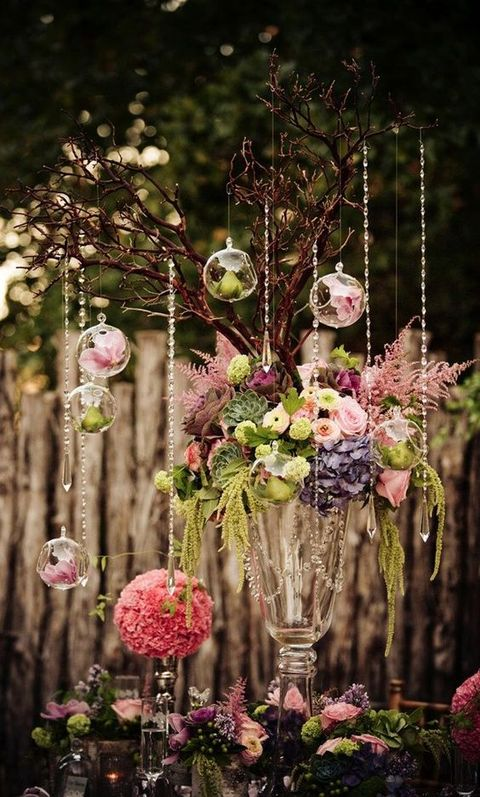65 Romantic Enchanted Forest Wedding Ideas HappyWeddcom