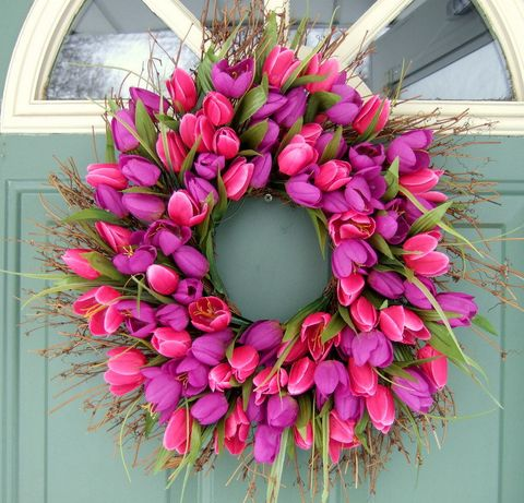 15 Sweetest DIY Spring Wedding Wreaths