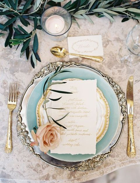 44 Refined Vintage Wedding Table Settings