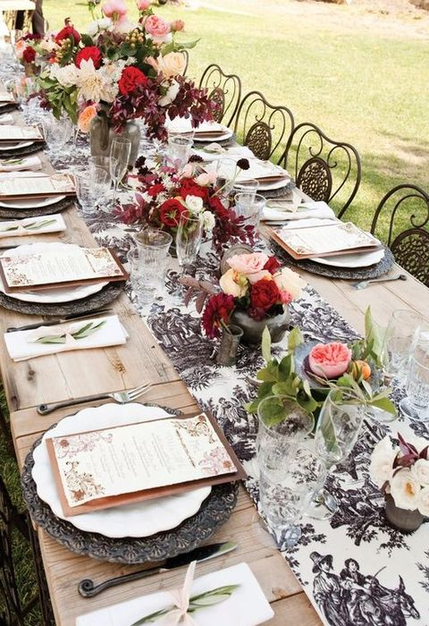 Awesome Vintage Wedding Table Settings Gallery - Styles & Ideas 2018 ...