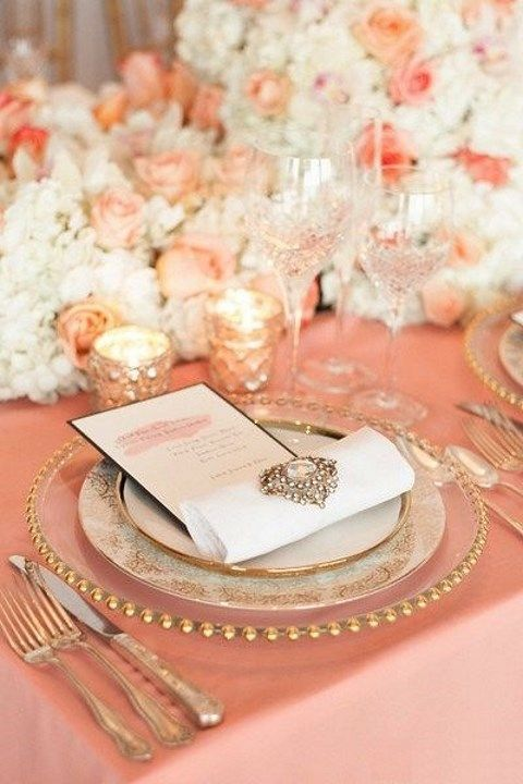 by Mia & 44 Refined Vintage Wedding Table Settings | HappyWedd.com
