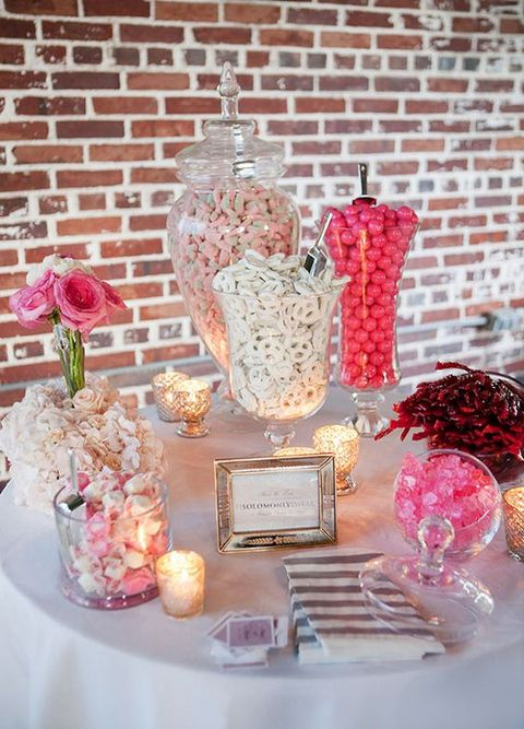 love is sweet 55 wedding candy bar ideas. Black Bedroom Furniture Sets. Home Design Ideas