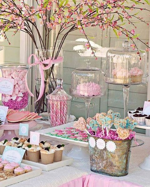 Conosciuto Love Is Sweet: 55 Wedding Candy Bar Ideas | HappyWedd.com MS65