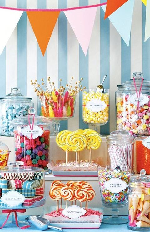 abbastanza Love Is Sweet: 55 Wedding Candy Bar Ideas | HappyWedd.com EP99